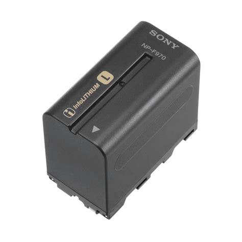 battery l sony np f970 l series info lithium battery pack 6300mah npf970