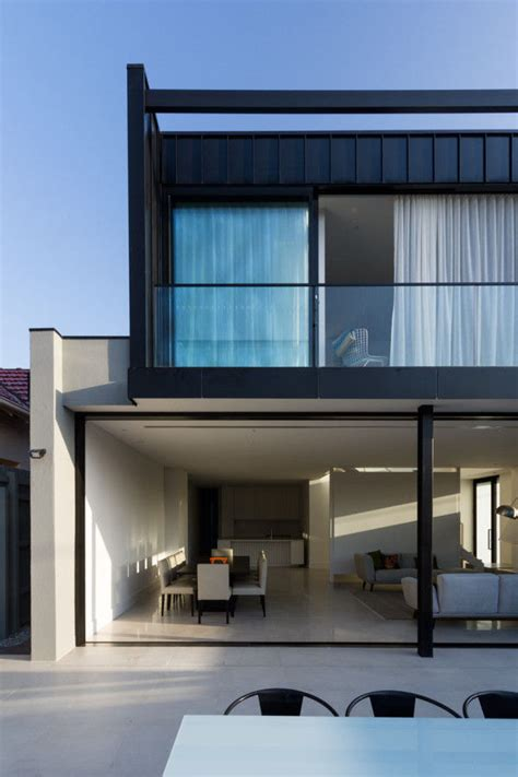 airy open townhouses modern townhouse