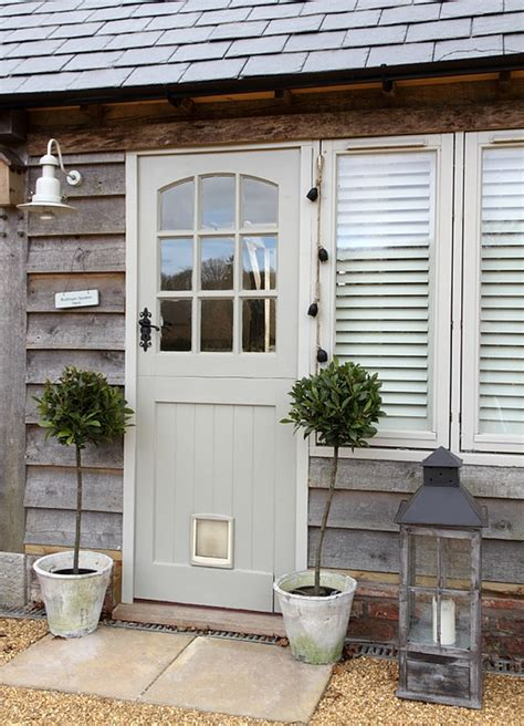 Colored Front Doors On Houses With Cedar Siding!  Front