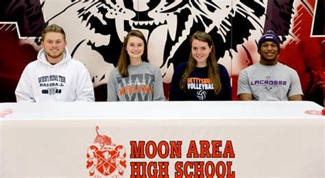 spring letter intent signing april moon area school district