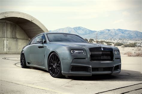 The Rolls-royce Wraith 'overdose' Is A Killer Custom Ride