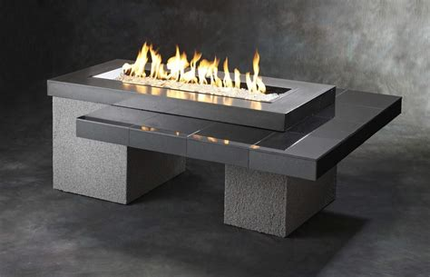 Outdoor Greatroom Uptown Gas Fire Pit With X Inch