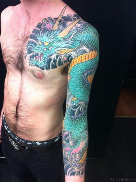 magnificent dragon tattoos  full sleeve