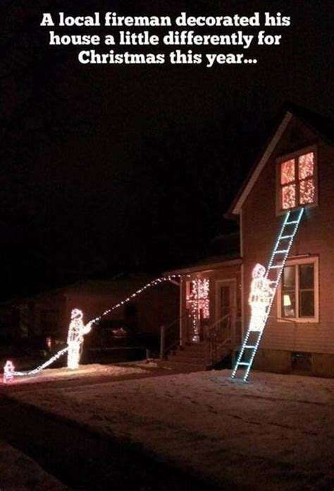 firefighter s christmas decorations holidays special days pinte