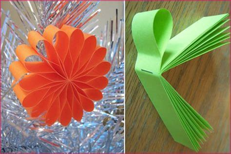 handmade paper ornaments  party supplies diy retail