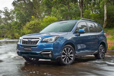 Subaru Forester by 2017 Subaru Forester Review