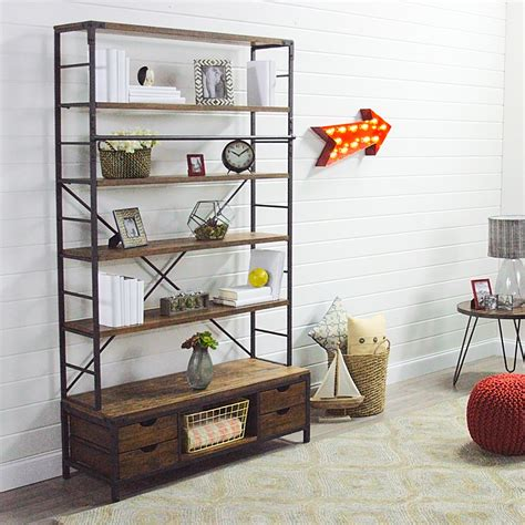 world market bookcase metal bookcase and ladder world market