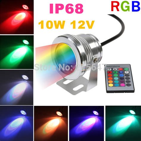 cheap 4pcs lot outdoor pool l rgb waterproof spotlight