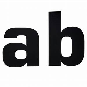 wilko self adhesive letters a b black 150mm at wilkocom With black adhesive letters