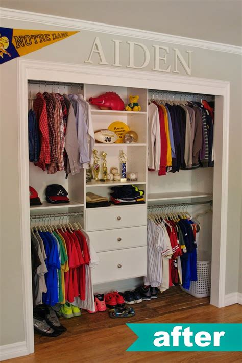 Kid Closet Organizer - closet organization ideas organizing home