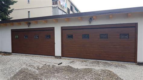 porte per box auto porte garage effetto legno armo caratteristiche e brochure