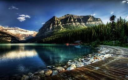 Backgrounds Wallpapers Lake Louise Desktop Canada Fantastic