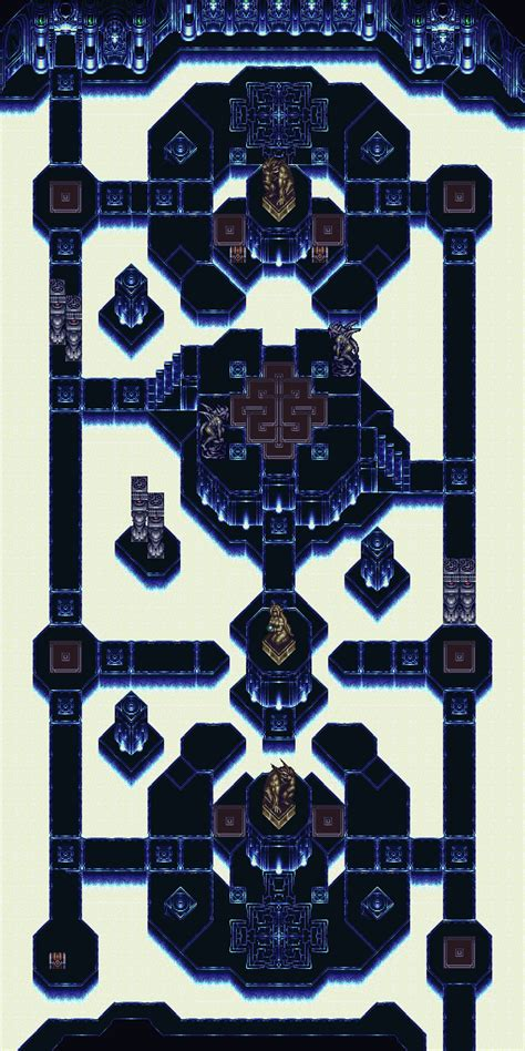 chrono trigger maps dungeon maps page