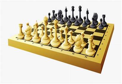 Board Chess Clipart Cartoon Games Cool Gamers