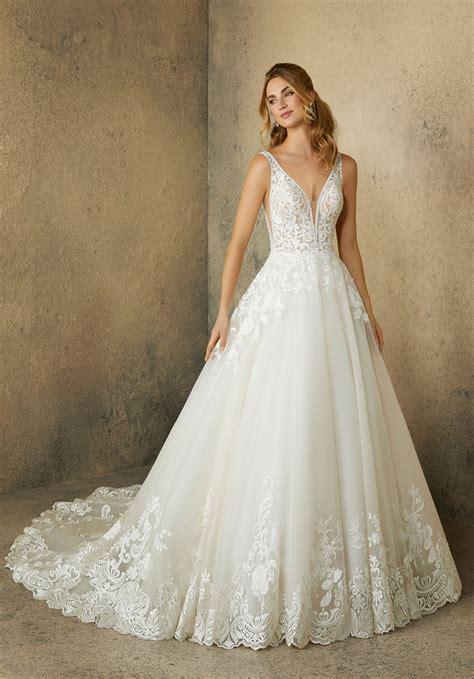robin wedding dress style  morilee