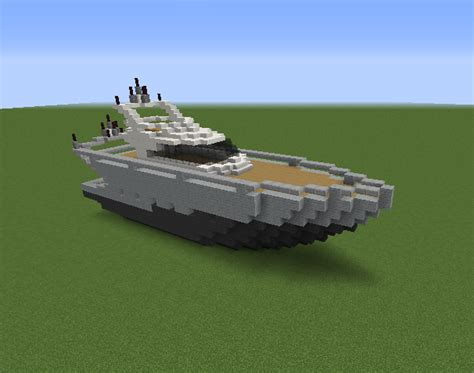 Minecraft Boat Stairs by Medium Yacht 4 Grabcraft Your Number One Source For