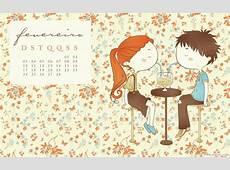 Calendário Fevereiro de 2013 malipi illustration