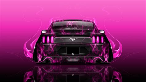 ford mustang muscle  fire abstract car  wallpapers