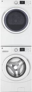 Ge Gewadrgw52 Stacked Washer  U0026 Dryer Set With Front Load