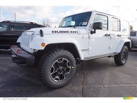 new jeep white 2017 bright white jeep wrangler unlimited rubicon hard