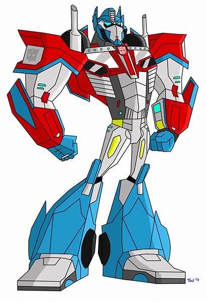 Optimus Prime Animated Clipart Transformers Fanart Transformer