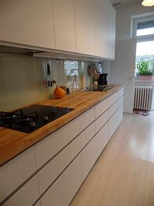 Unsere ikea kuche mit nodsta front solebichde for Arbeitsplatten küche ikea