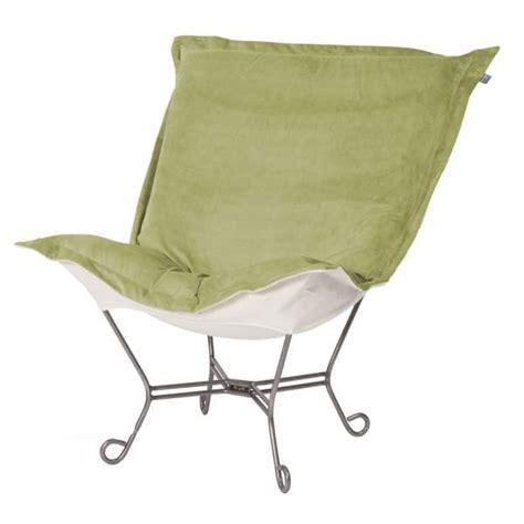 howard elliott puff chair moss