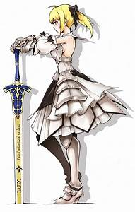 fatestay night saber saber lily fate series – Anime Fate ...