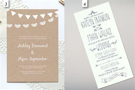 12 Editable Wedding Invitation Templates (Free Download
