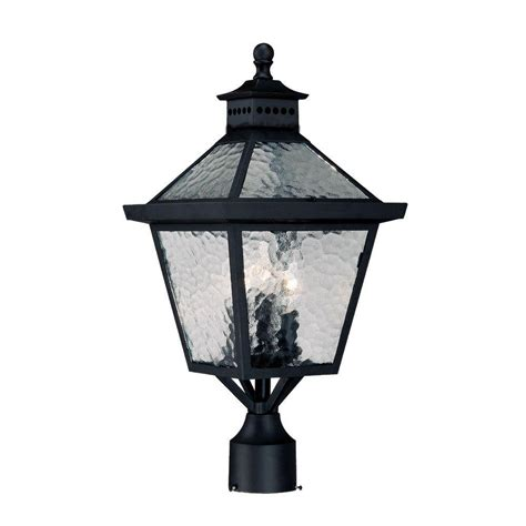 acclaim lighting bay 3 light matte black outdoor