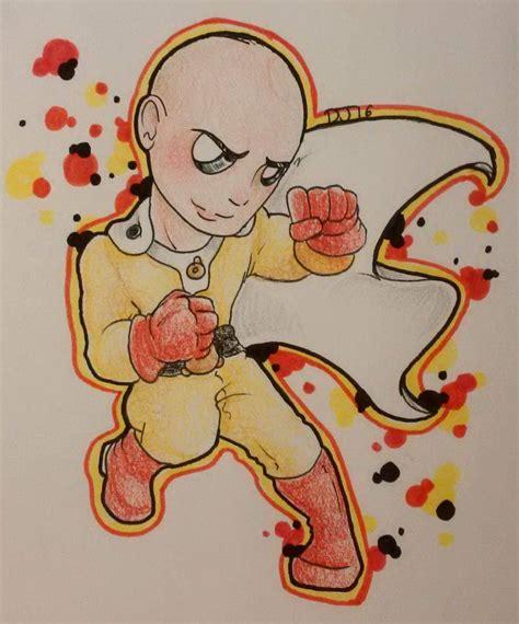 saitama sticker by daisie2819 on deviantart