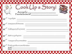 word templates recipe quick and fun book report recipe card creative book
