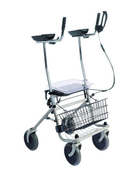 arthritis rollator mit einhandbremse links