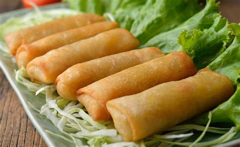 cuisine traditionnelle chinoise rollitos primavera variedades y tipos
