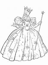 Coloring Wizard Oz Pages Printable Glinda Easy Lion Witch Dorothy Emerald Drawing Wicked Colouring Children Sheets Printables Cowardly Characters Wizards sketch template