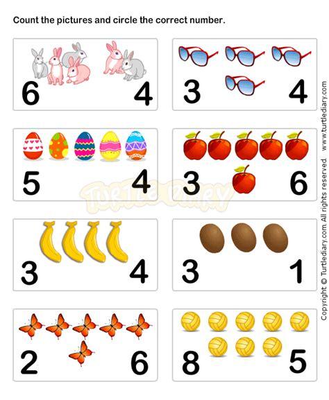 learn numbers worksheet5 math worksheets preschool