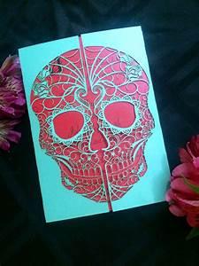 day, of, the, dead, skull, gate, invitation