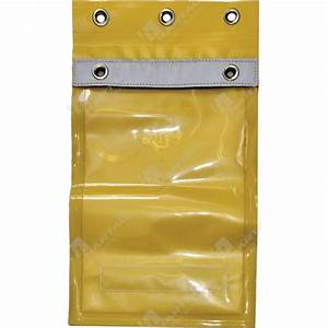 permit holders control boards yellow a4 pvc permit With heavy duty document holder