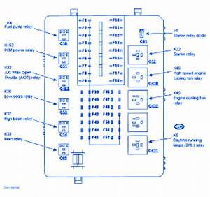 Ford Contour 2000 Fuse Box  Block Circuit Breaker Diagram  U00bb Carfusebox