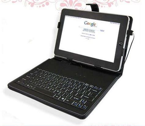 table l with usb port 5pcs 10 inch keyboard kick stand case for android tablets