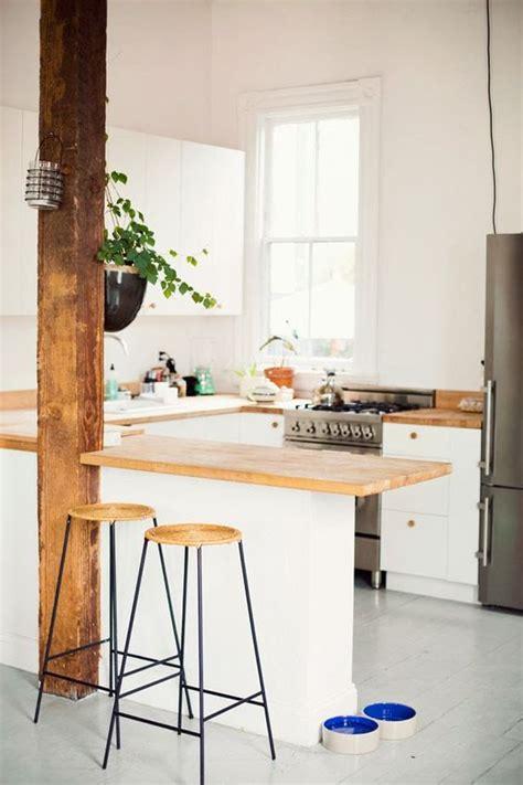 asticot blanc dans la cuisine combiner bois et blanc dans la cuisine voici 20 idées