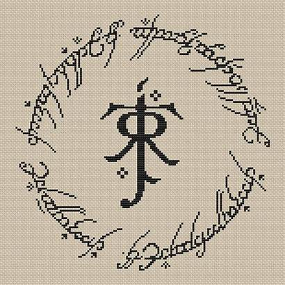 Stitch Tolkien Cross Pattern Embroidery Instant Craftsy