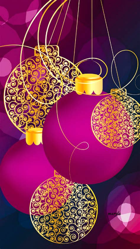 Purple Ornaments Wallpaper by Pink Iphone Waallpaper Background Iphone