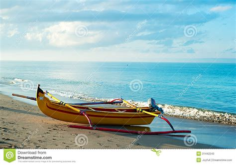 Balinese Fishing Boat by Balinese Fishing Boat Stock Photos Image 31442243