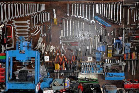 hanging tools stock photo image
