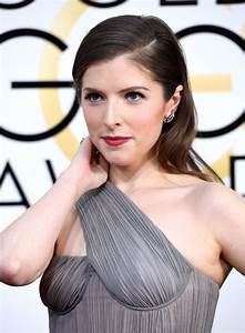 Anna Kendrick At 74th Annual Golden Globe Awards in ...