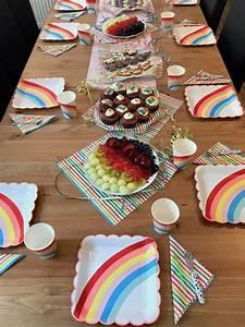 2 Geburtstag Junge Deko : regenbogen einhorn geburtstag deko spiele kuchen kindergeburtstag ideen kids birthday ~ Frokenaadalensverden.com Haus und Dekorationen