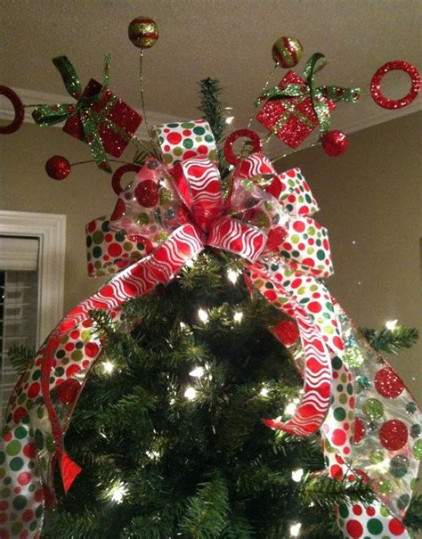 personalized christmas tree topper