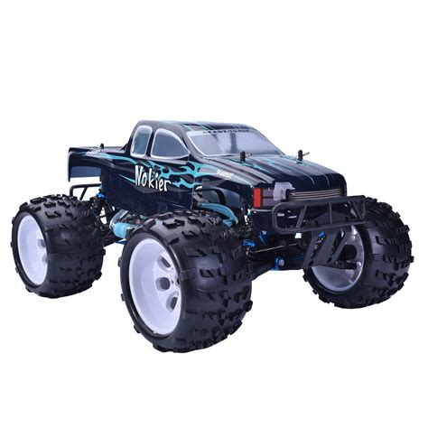 monster trucks nitro 2 hsp 1 8 scale rtr 2 4ghz nitro 2 speed 4x4 rc off road