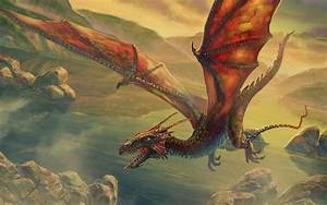 Wings dragons flying fantasy art escape artwork air ...